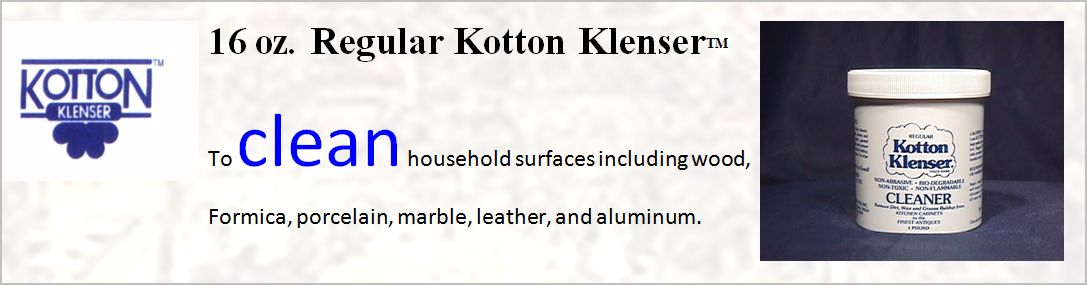 16 OUNCE REGULAR KOTTON KLENSER FOR CLEANING AND RESTORING WOOD FINISHES